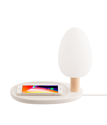 Wireless Charging Tree Desk Lamp